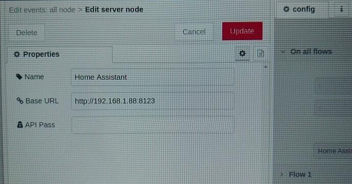 Edit server mode